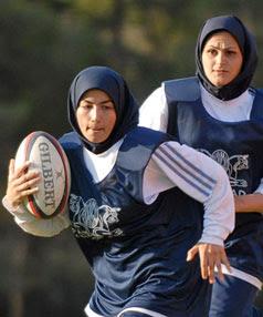 muslimah 12 Rugby team