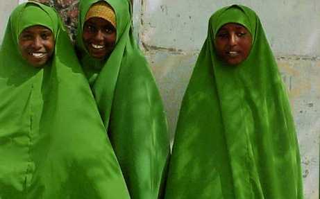 muslimah 19 Afrika, Somalia