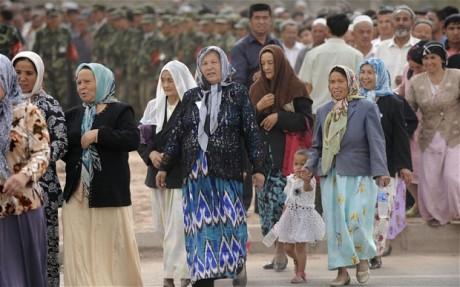 muslimah 45 China Uighur