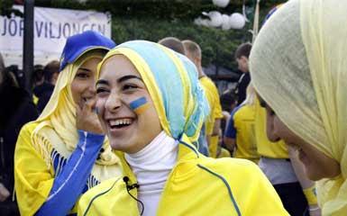 muslimah 69 Swedia