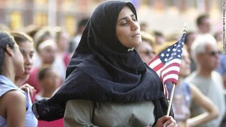 muslimah 9 di Amerika