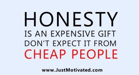 kejujuran